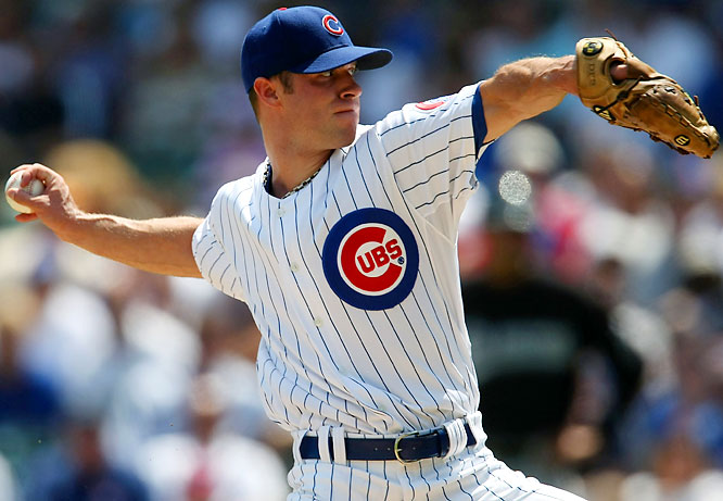 On July 8 (one day after the Brewers got Sabathia), the Cubs responded by acquiring pitchers Rich Harden and Chad Gaudin from the Oakland A's for pitcher Sean Gallagher, outfielder Matt Murton, infielder Eric Patterson and catcher Josh Donaldson. Harden is 0-1 with a 1.03 ERA and 30 strikeouts against just eight walks since the deal.<br><br><i>All stats through July 30.