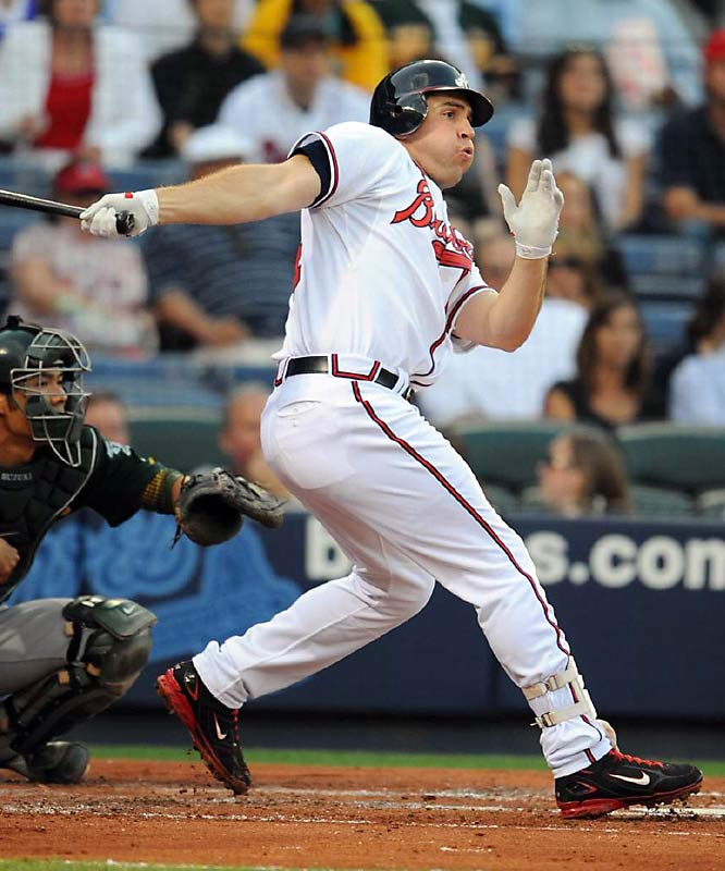 With the Braves still in the wide-open NL East race, Atlanta might be hesitant to part with its starting first baseman, who is batting .275 with 67 RBIs. If David Ortiz's wrist continues to bother him, the Red Sox could make a move but would likely have to part with their own first baseman, Kevin Youkilis.