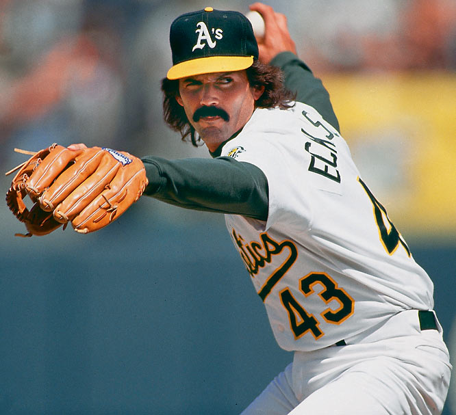 Eckersley, who didn't become a closer until 1987, his 13th  big league season, finished with 51 saves and a 1.91 ERA in 1992, earning him the AL's Cy Young and MVP awards -- a feat only two relievers (Rollie Fingers in 1981 and Willie Hernandez in 1984) had previously accomplished. Eckersley was elected to the Hall of Fame in 2004.