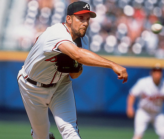 In his first year in the bullpen, Smoltz joined Dennis Eckerlsey as the only pitchers to have a 20-win season and a 50-save season in their careers. He blew just one save in 49 appearances after June 1.