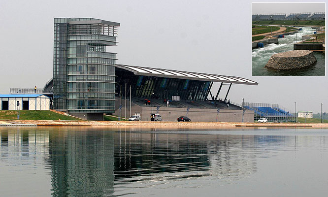 The Shunyi Olympic Rowing-Canoeing Park seats 37,000 spectators and will host the rowing, canoeing, kayaking and 10-kilometer marathon swimming events.