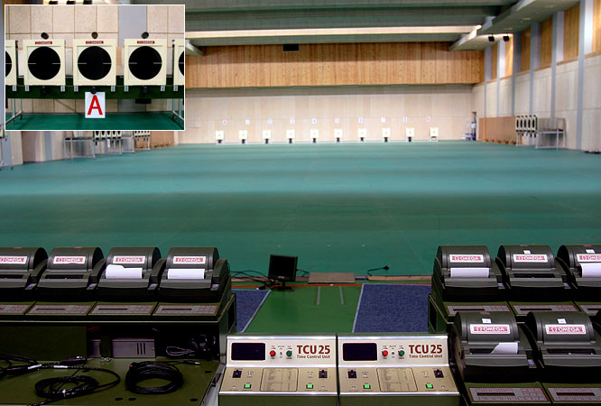 With a seating capacity of 9,000, the Beijing Shooting Range Hall will host the qualifications and finals of the 10-, 25-, and 50-meter range shooting events. The first gold medal of the 2008 Summer Olympics will likely be awarded here.