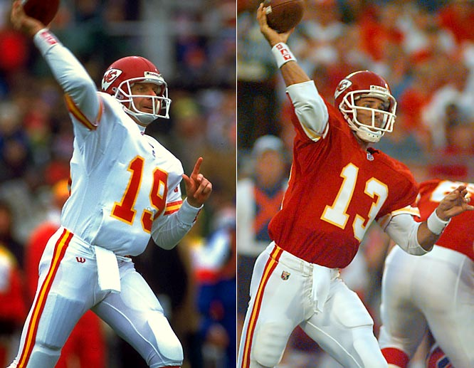 While a future Hall of Famer (Steve Young) replaced Montana when he left San Francisco, the four-time Super Bowl winner was replaced by veteran Bono in Kansas City. Bono, who had served as an understudy to Montana in San Francisco and Kansas City, turned in a Pro Bowl performance while guiding the team to a 13-3 record during his first season as the Chiefs' starting quarterback. Though he only held the starting job for two seasons, Bono eased the loss of Montana and helped the Chiefs remain a playoff contender.