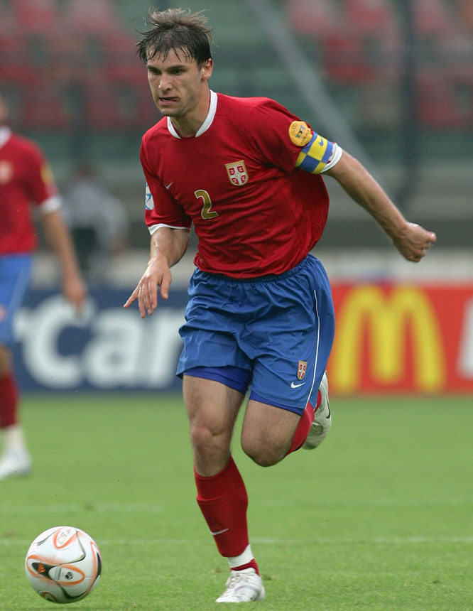 Considered one of Serbia's most promising young talents, the 21-year-old defender helped his country to a surprising runner-up finish in last year's U-21 European Championships.