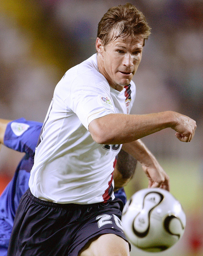 America's veteran striker -- he's 12 years older than any of his Olympic teammates -- has played in three World Cups with the senior team and earned 95 caps.
