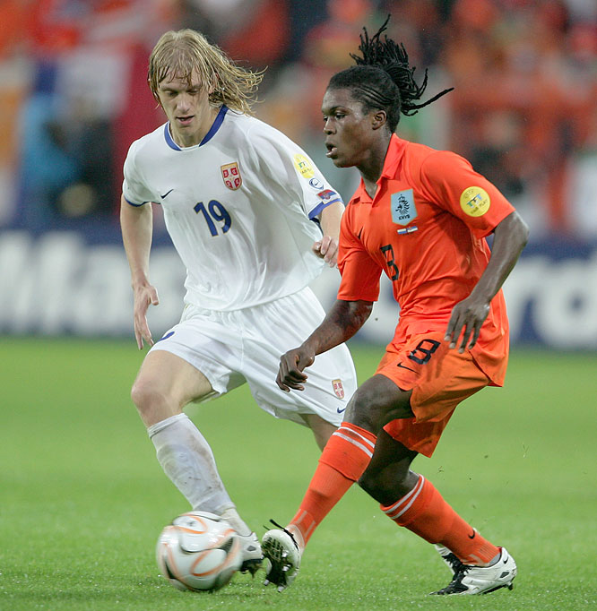 After helping the Dutch win the U-21 European Championship last summer, Drenthe earned a contract with Spanish giants Real Madrid, where the left back scored two goals in 18 appearance this past season.