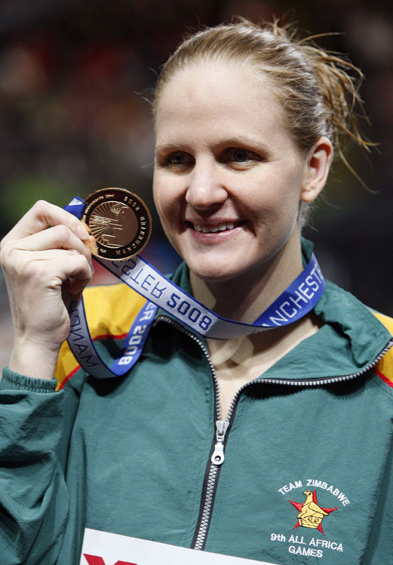 "At the 2004 Olympics, Coventry won three medals: bronze in the 200-meter individual medley, silver in the 100-meter backstroke and gold in the 200-meter backstroke. She is fittingly called ""a golden girl"" in Zimbabwe, as she owns all of the country's individual medals."