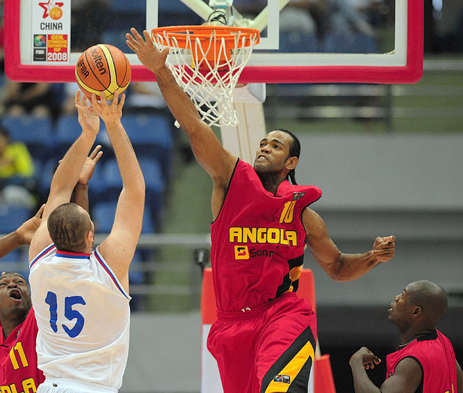 Mid-major junkies might remember Gomes from his four-year stint with Valparaiso University during the early 2000s, where the post man helped the Crusaders to a pair of NCAA tournament appearances. He helped Angola clinch a berth in the Olympic tournament with a victory in last year's FIBA Africa Championship.