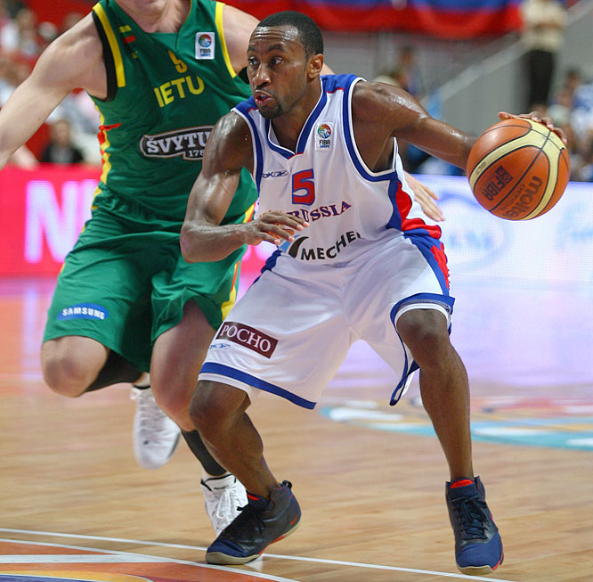 Following a decorated collegiate career at Bucknell, Holden emerged as one of Europe's best point guards during six seasons with CSKA Moscow. Naturalized in 2003, Holden became a national hero after his 17-foot jumper with 2.1 seconds left gave Russia a stunning 60-59 victory over Spain in last September's European championships.