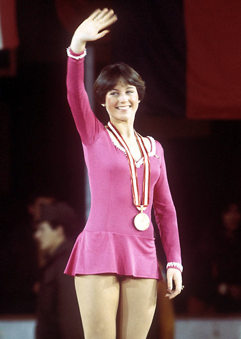 Hamill became America's sweetheart with her 1976 gold medal win.