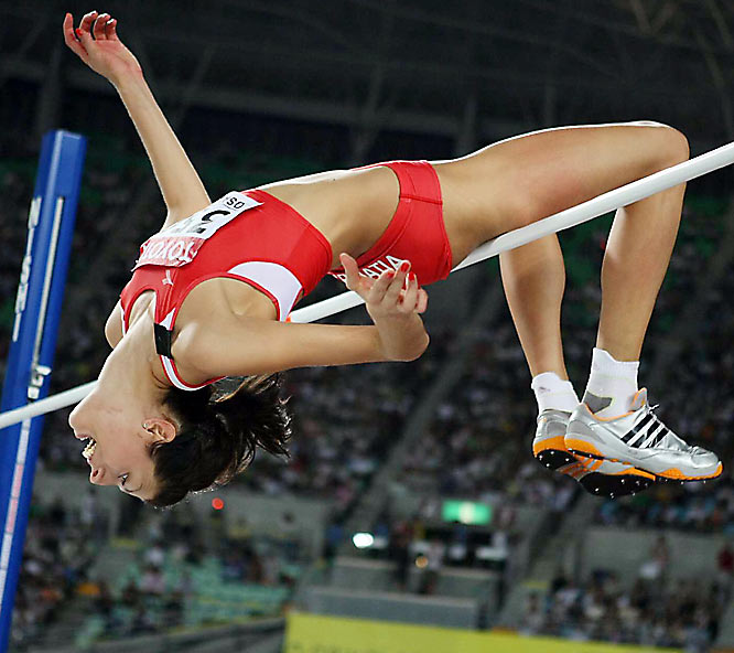 Named after the city of Casablanca, where her father, Joško Vlašic, competed in the 1983 Mediterranean Games as a decathlete, Blanka Vlašic is the current world champion in the high jump. She owns an unbeaten streak of 33 competitions and has jumped over two meters in 48 of her competitions. This season, Vlašic has jumped three centimeters higher than any of her opponents.