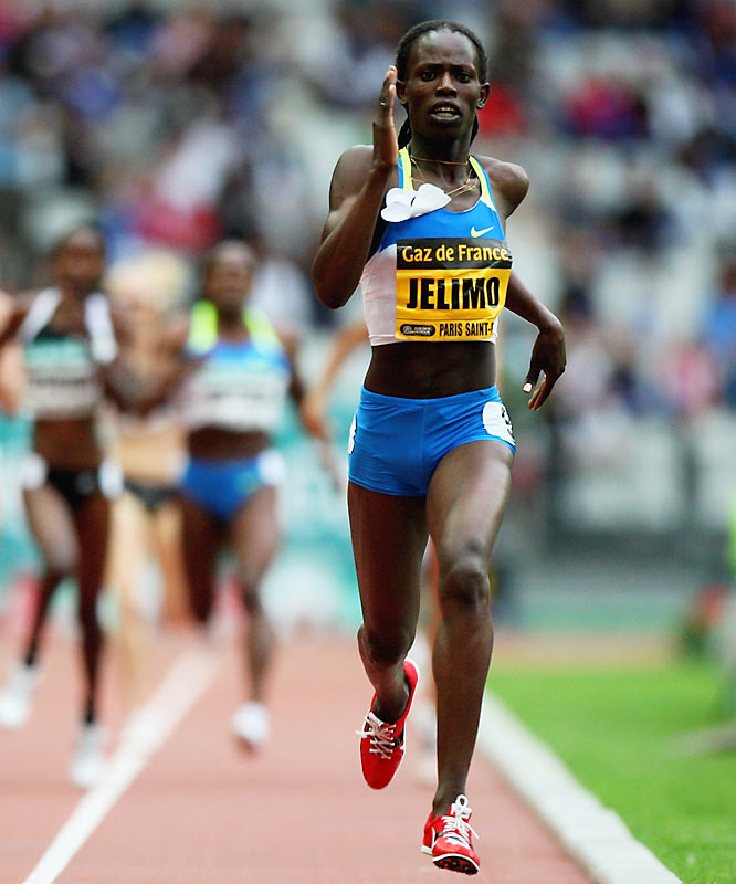 A competitive runner for the past six years, 19-year-old Jelimo has run five of the year's seven fastest times.