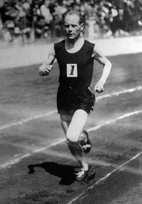 "As one of the ""Flying Finns,"" Nurmi was, without a doubt, the top middle and long distance runner throughout the 1920s. Competing in three Olympics that decade, Nurmi won five gold medals in five events at the 1924 Games in Paris alone, including the 1500-meter and 5000-meter races in which he only had 26 minutes in between to rest. His 12-medal tally (nine gold, three silver) is more than any track and field Olympian to date."