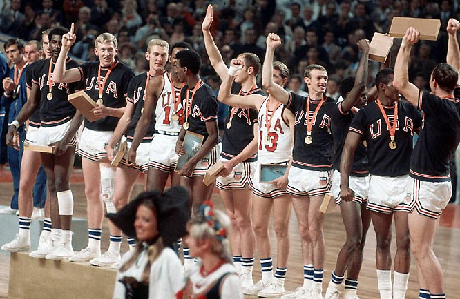 The U.S. has been a part of Olympic basketball since 1936, winning gold in Berlin, the first time basketball was part of the Summer Games. Fast-forward 32 years to the modern era of USA Basketball. An unknown 19-year-old junior college center at the time, Spencer Haywood lit up the scoreboard with 145 points in nine games at the 1968 Mexico City games to lead the underdog U.S. squad to its seventh gold medal.