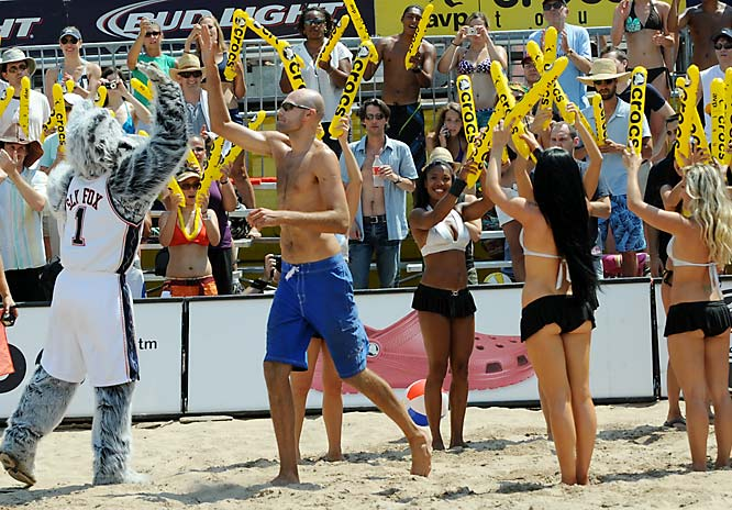 Phil Dalhausser gets set for the  finals -- along with teammate Todd Rogers, he'll be hanging out with Misty May-Treanor and Kerri Walsh in Beijing next month.