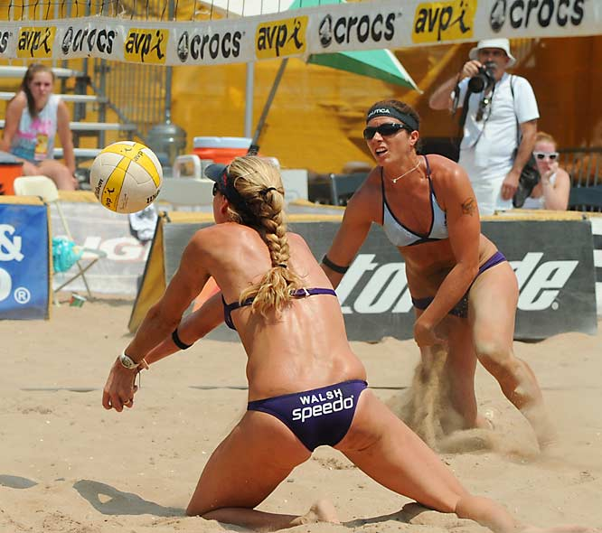 Kerri Walsh won't give up a point
