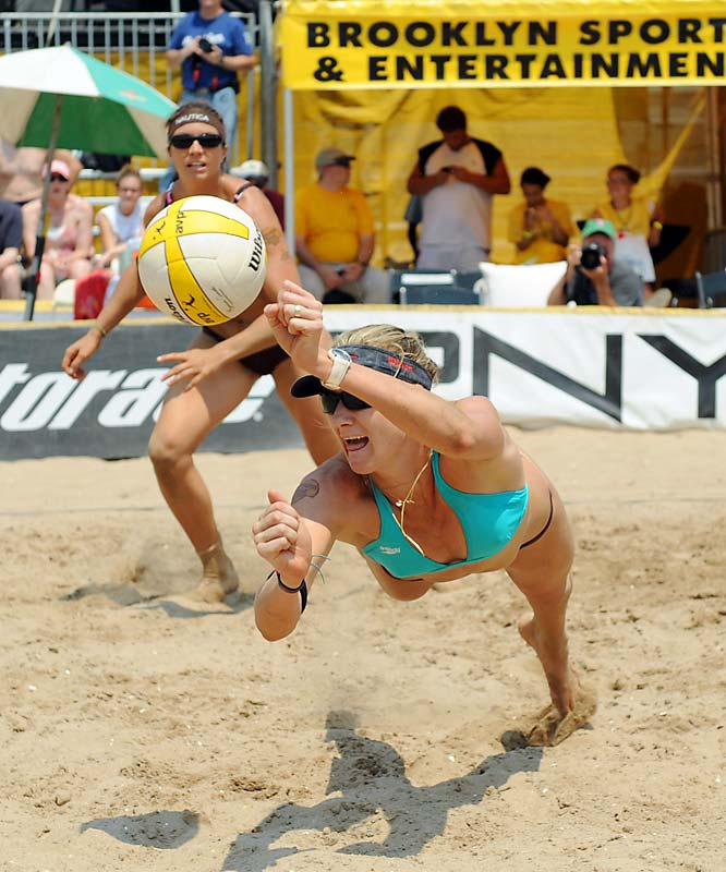 "Kerri Walsh had her head in the game, but told The Canadian Press that ""the Olympics are only 20 days away.  I feel it every second of the day."""