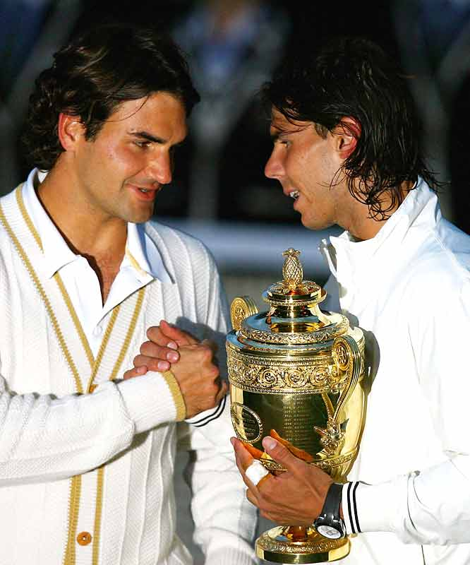 With 17 major victories between them, Roger Federer and Rafael Nadal are definitely the Borg-McEnroe, Edberg-Becker or Sampras-Aggasi of their respective era.