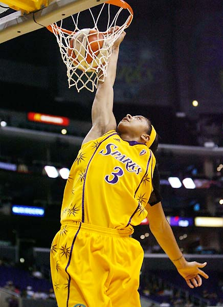 From her record-breaking first game to her attention-grabbing dunks, Candace Parker has taken the league by storm.