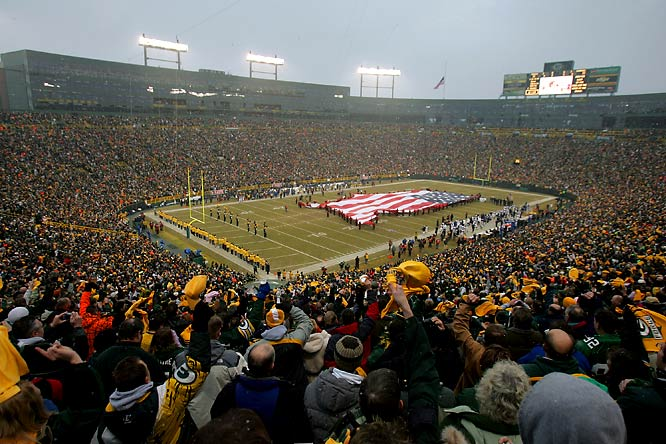 Simply put, Lambeau Field is the crown jewel of NFL stadiums. Opened in 1957, Lambeau Field was the first stadium built for the exclusive use of an NFL team and quickly became the home of champions after Vince Lombardi's Packer squads won several NFL titles and the first two Super Bowls. In recent years, Lambeau has been the home of another legend, Brett Favre, but with the quarterback now playing in New York, who will be the next Lambeau legend?