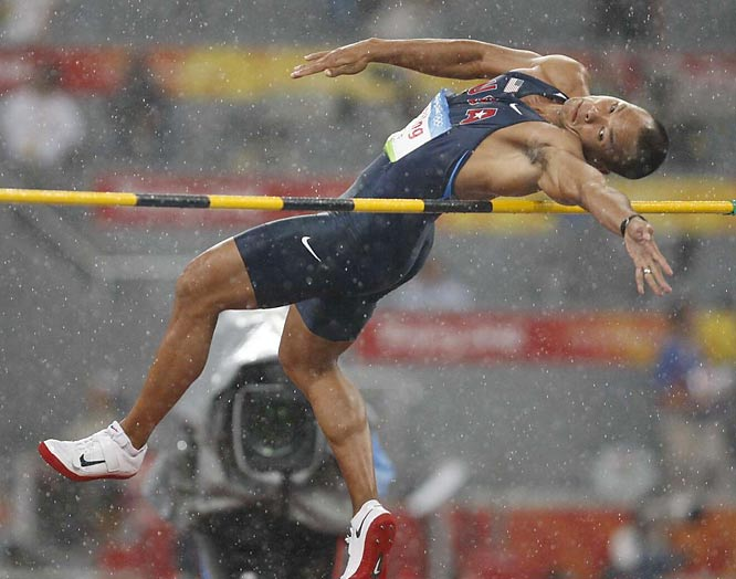 Bryan Clay joining the likes of Bruce Jenner and Jim Thorpe as Olympic decathlon champions in an event that an American has won 12 times in 22 Olympics but only twice since 1976.