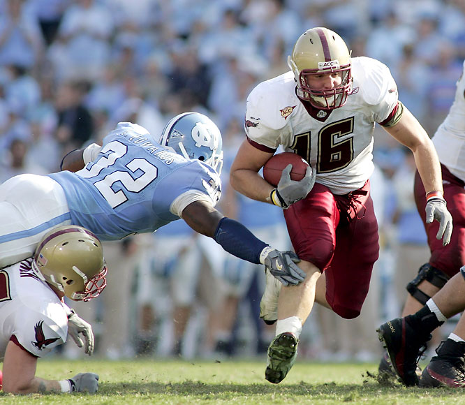 He returns to action after taking a medical redshirt in 2007. In 2006, he doubled as a fullback in short-yardage situations, leading the Eagles with six rushing touchdowns.
