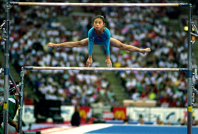 A gymnast at the 1992 Olympics for North Korea, Kim was also at the forefront of the one of the biggest age scandals in history when she was listed as 15 years old for three consecutive years. Her petite frame fooled everyone, including the FIG, who never obtained her real age and decided to ban the North Korean team from the 1993 World Championships.