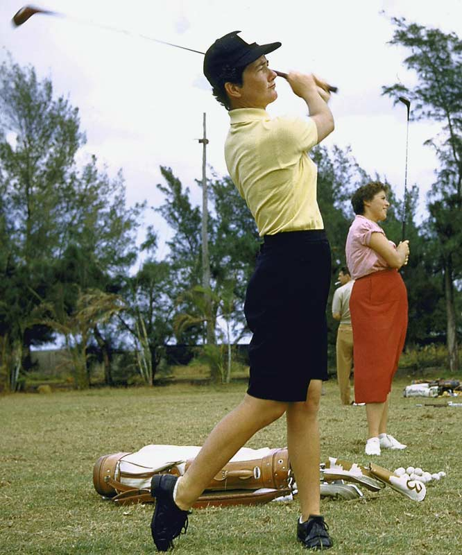 A co-founder of the LPGA in 1950, Suggs won 58 pro tournaments in her career, including 11 majors; the third-highest total all-time. She also became the first woman golfer to win a single tournament (the Dallas Civitan Open) in three consecutive seasons, from 1959 to 1961. <br><br>Worthy of consideration: Alice Coachman, Teresa Edwards, Gwen Torrence and Wyomia Tyus.