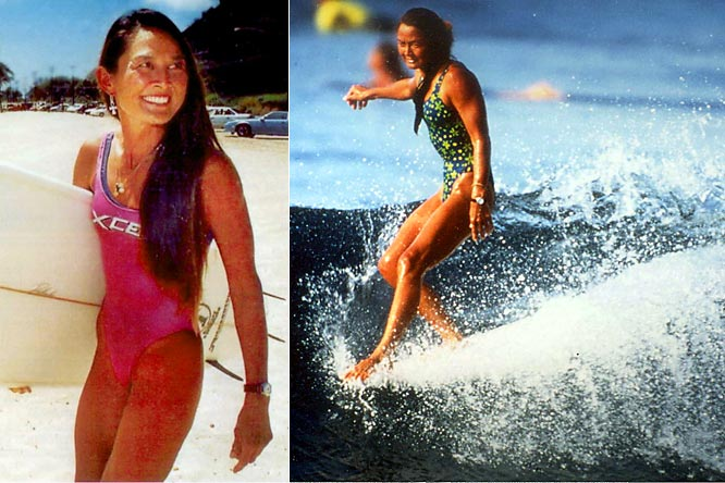 "A surfer since age 4, Sunn broke through gender barriers and became one of the first female professional surfers. Frustrated by discrimination, she helped found the women's professional surfing tour in 1975 and the Women's Professional Surfing Association in 1979. The ""Queen of Makaha,"" Sunn reached the peak of her career in 1982 when she was ranked No. 1 in the world on longboard.  <br><br>Worthy of consideration: Reydan Ahuna, Lindsey Berg, Bethany Hamilton, Lenore Muraoka, Traci Phillips, Robyn Ah Mow-Santos, Cyn Stehouwer and Michelle Wie."