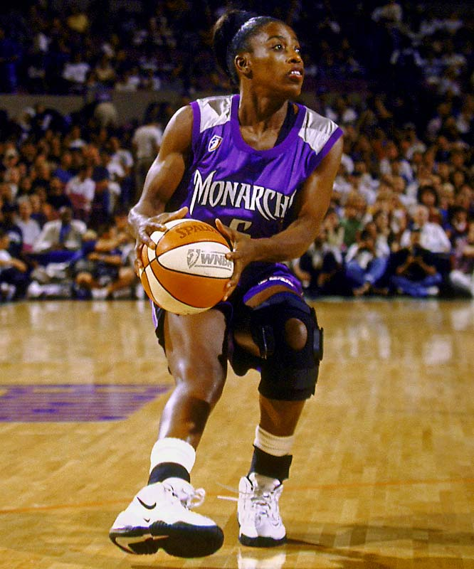 USA Basketball's Female Athlete of the Year in 1991, Bolton-Holifield enjoyed an eight-year WNBA career. But she made her biggest splash on the international stage, winning gold medals in the '96 and '00 Olympics.<br><br>Worthy of consideration: Jennifer Gillom, Lusia Harris-Stewart, Margaret Wade and Willye White.