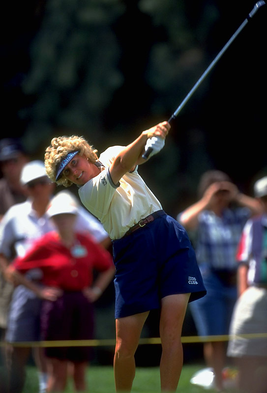 An LPGA Tour player beginning in 1977, King racked up an astounding six major championships and 34  victories. In 1984 alone, she won three titles, finished in the top 10 an amazing 21 times and was named LPGA Tour Player of the Year. She continued her dominant streak through 1989 for a total of 21 victories in the five-year span -- the most of any golfer, male or female, during that time. <br><br>Worthy of consideration: Anita DeFrantz, Suzie McConnell Serio and Dawn Staley.