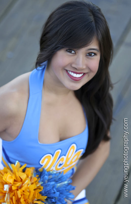 Meet Lisa, a proud UCLA dance team member. The sophomore world arts and cultures and Spanish dual-major loves reading books in Spanish, getting late-night food deliveries and knitting. Want to find out more? Click on the 20 Questions link below.
