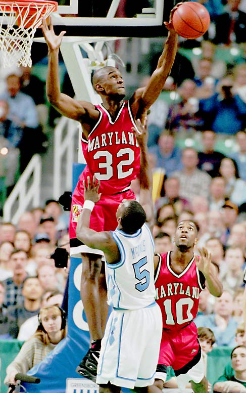 The 1995 National Player of the Year is one of the best basketball players to ever wear Maryland's red, white, and black. As a student-athlete, Smith was a first-team All-America and in 1995 he became the third sophomore to be  named ACC Player of the Year. As a Terrapin, Smith averaged 20.1 points, 10.7 rebounds, 2.9 blocks and 1.0 assists in 64 games.