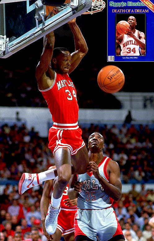 Bias was a rare basketball talent. Drawing comparisons to basketball legend Michael Jordan, his ability to shoot and rebound made him an elite forward. He was named the 1986 ACC Athlete of the Year and the ACC Player of the Year two consecutive seasons ('85 and '86). Tragically, he died of a drug overdose the night after being drafted by the Boston Celtics.