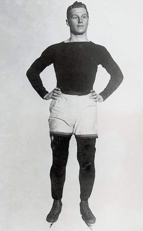 Recognized as the first great American hockey player, Baker was a three-sport athlete at Princeton before the school's regulations forced him to drop it down to two. No sweat for Baker: he went on to lead the Tigers to two national titles in hockey and one in football. The award for the country's top collegiate player now bears his name, and, after his death in World War I, his legacy of being an athlete and a gentleman remains at Princeton.