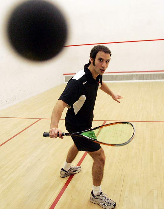 Yasser El Halaby has been the top-ranked squash player in the world at his age since he was 12-years-old. His dominance continued at Princeton, where he became the first player to win the NCAA individual title in his sport for four straight years.