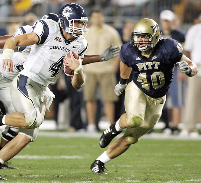 The tackling machine led the NCAA with an average of 12.58 stops per game in 2007. McKillop is a very intelligent player with a motor that never quits.