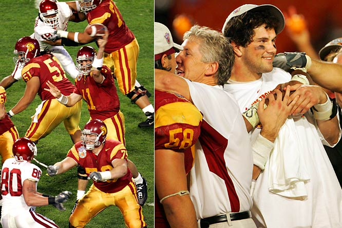 Prior to this moment, Oklahoma had been viewed as the team of the decade, having reached their third BCS title game in five seasons. The Trojans' rout, however, left no doubt as to the nation's new darling and cast a negative light on the Big 12.