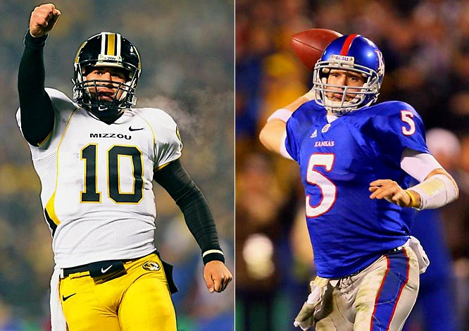 Following years of mediocrity in the Big 12 North, these two upstarts staged an epic showdown in Kansas City, both ranked in the top five. Their emergence has helped restore the reputation of the Big 12, which finished fifth in our CPI standings from 2003-'08.
