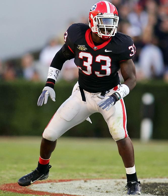 Ellerbe boasts next-level athleticism in the middle of Georgia's defense. Last season the 6-foot-1, 232-pound linebacker led the Dogs with 93 tackles, including 12 tackles for loss.