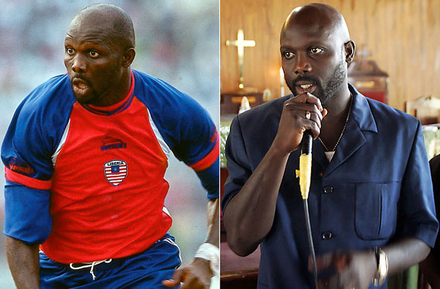 "The Liberian soccer legend known as ""the King"" had a successful career in Europe and was the first African to be named the world's best player, in 1995. In 2005, he lost a runoff for president in his native country and in 2011 lost running as a vice presidential candidate."