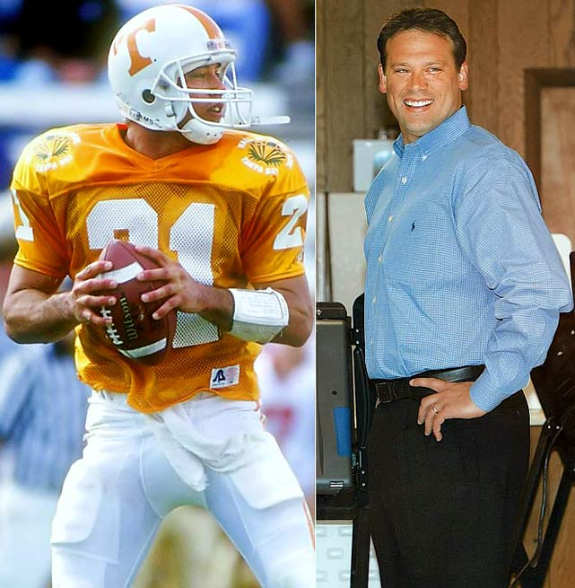 A Tennessee star, Shuler played for the Saints and Redskins before injuries ended his career. He returned to his home state of North Carolina, where he outsted Rep. Charles Taylor to help the Democrats take control of the U.S. House in 2006.