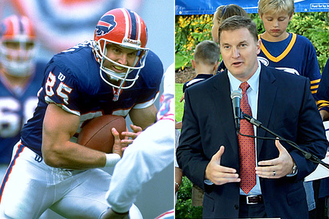 The former Buffalo Bills tight end, who retired with the Steelers in 2004, lost in the Michigan Primary in 2010. To Riemersma's credit, he only lost to the eventual victor by 700 votes in a seven-way GOP race.