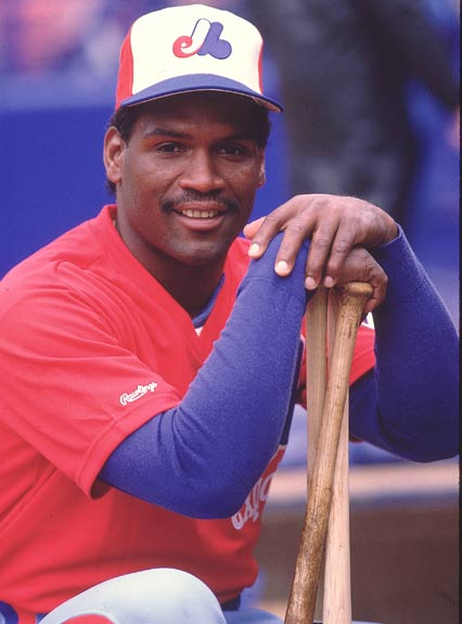 Tim Raines is inducted into the Expos' Hall of Fame. The 21-year veteran outfielder, who is fifth on the all-time career steals with 807, broke in with Montreal in 1979 and made National League All-Star team from 1981-1987.