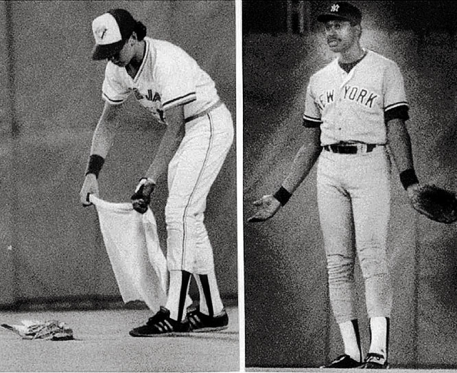 Dave Winfield kills a seagull at Exhibition Stadium with a warmup throw prior to the home fifth inning. After the 3-1 victory over the Blue Jays, the Yankees outfielder is arrested by the Ontario police and charged with animal cruelty.