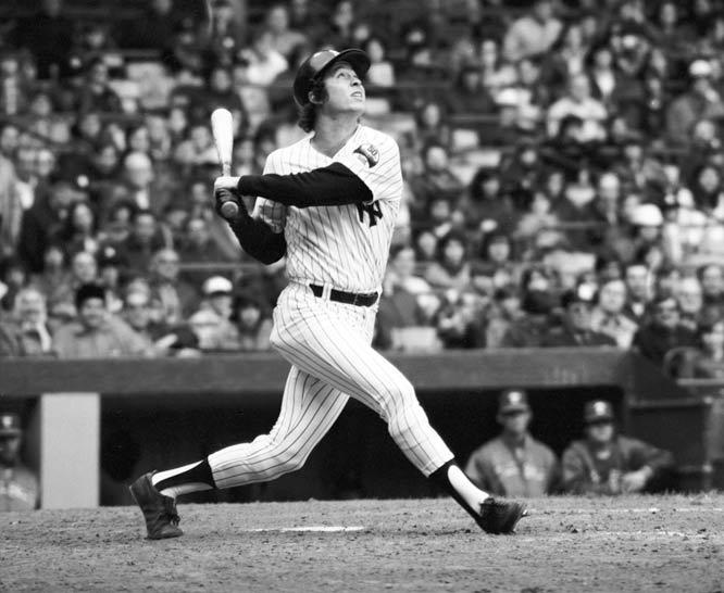 New York fans celebrate Bobby Murcer Day at Yankee Stadium.