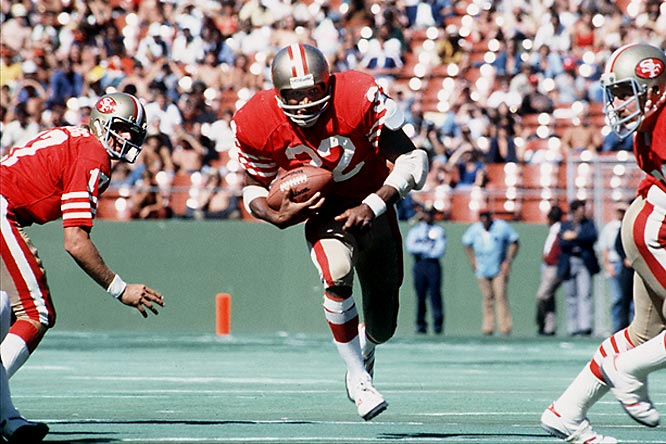 The first man to rush for 2,000 yards in an NFL season (1973), Simpson was running out of juice by 1977 when injuries limited him to 126 carries and 557 yards in seven games. Before the '78 campaign, the Buffalo Bills traded the former USC star, 31, to the sadsack 49ers for a second-round pick. Simpson never gained more than 593 yards in a season while the Niners eked out successive 2-14 marks.