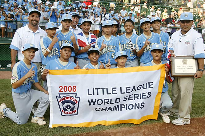 Waipio extended the United States' title streak in the LLWS to four years. Plus, the '08 champs scored the most runs for a team in the final game since 1998, when New Jersey's Toms River defeated Kashima, Japan 12-9.