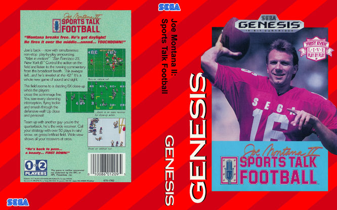 This Sega Genesis title was the first game to use digitized speech and continuous play-by-play commentary.