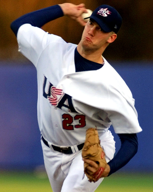 The 6-foot-11 Rauch, who was recently acquired by the Diamondbacks, overwhelmed the opposition in Sydney, going 1-0 with a 0.82 ERA while striking out 21. He didn't walk a single batter in 21 innings of work.